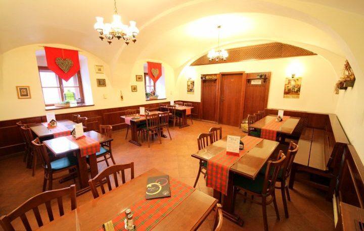 Restaurace U Rychtáře vnitřní prostory