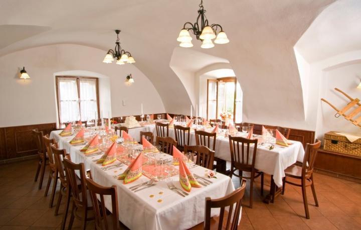 Salónek v Restauraci U Rychtáře