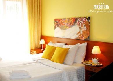 DVOJLŮŽKOVÝ POKOJ v Hotelu Meritum
